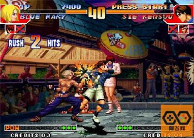 【拳皇97裸体版】单机中文模拟器下载