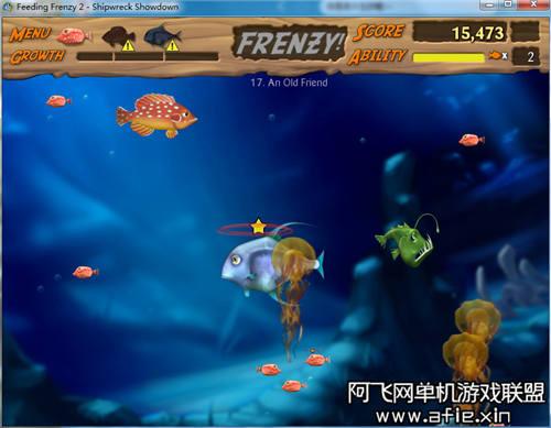 【吞食鱼2 大鱼吃小鱼2】中文版游戏下载