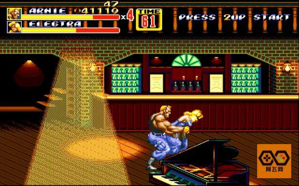 MD【怒之铁拳2-国际英雄】中文单机模拟器下载