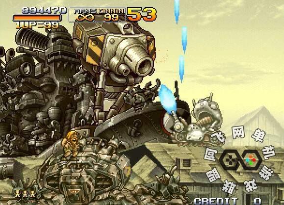 合金弹头X关卡敌兵重制子弹加强版,自带中文单机模拟器