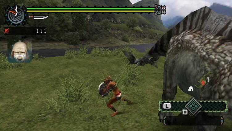 怪物猎人携带版-怪物猎人P超清中文版,带中文模拟器