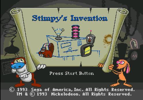 MD《史丁比的大发明 兔兔历险记》中文模拟器