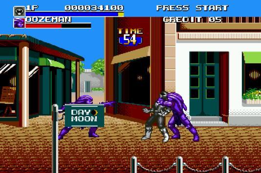 MD《恐龙战队|超能战士》中文模拟器