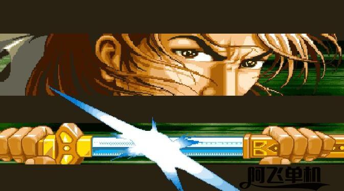 街机《傲剑狂刀》带中文模拟器