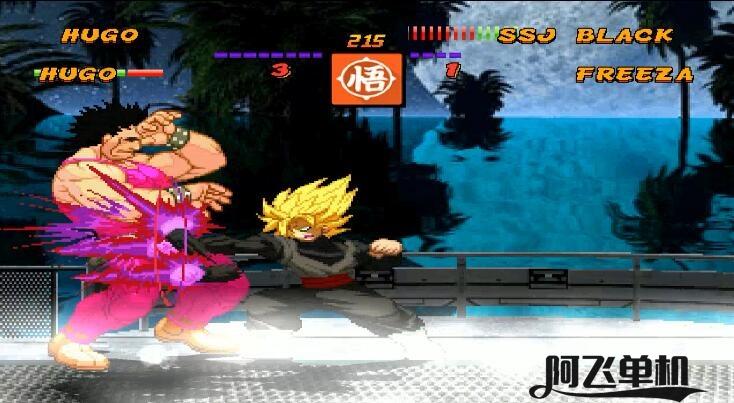 MUGEN《街头霸王对龙珠Z-复仇2》