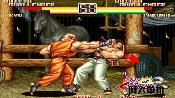 街机《龙虎之拳2(美版)》带中文模拟器
