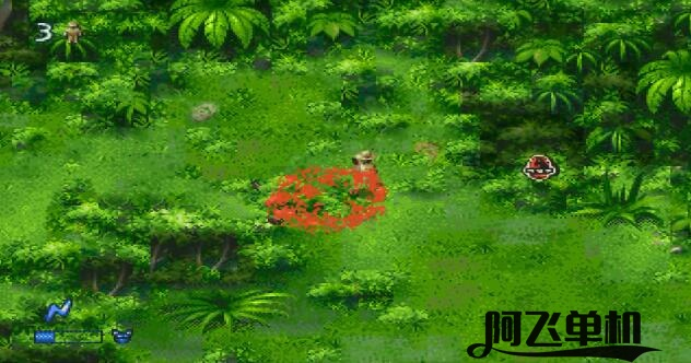 MD《侏罗纪公园2:迷失的世界(美版)》带中文模拟器