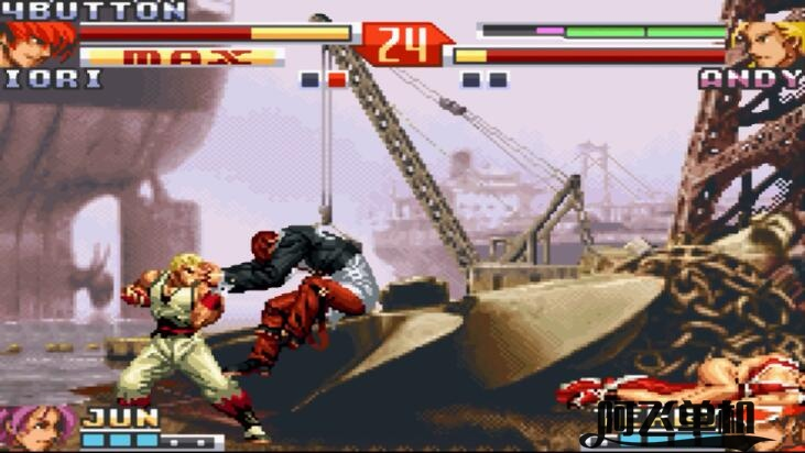 GBA《拳皇EX2(汉化)》带中文模拟器