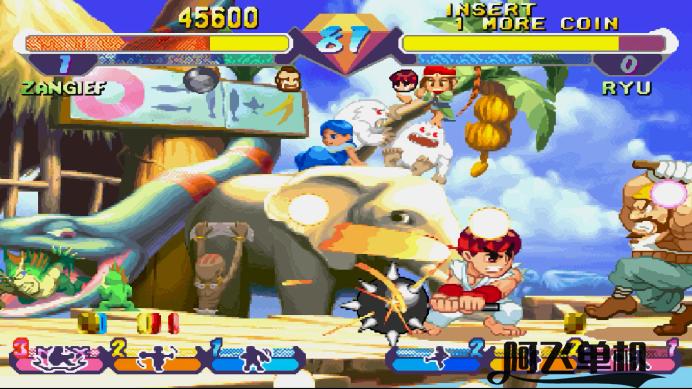 街机《超级口袋战士(三版)》带中文模拟器