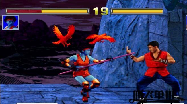 街机《成龙传说2:火焰之拳(美版)》带中文模拟器