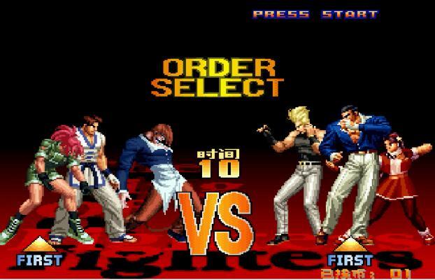 街机《拳皇97加强版-2017最终版》带中文模拟器