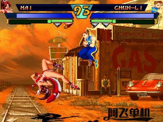 MUGEN《SNK对卡普空EX》游戏下载