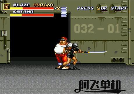 MD《怒之铁拳3暴走布雷泽》带中文模拟器
