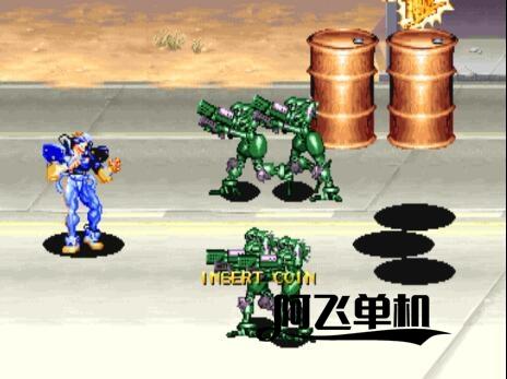 街机《战斗回路(多版本)》带中文模拟器